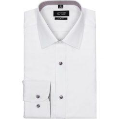 Koszula bexley 1717 długi rękaw slim fit biały. Szare koszule męskie na spinki marki Recman, na lato, l, w kratkę, button down, z krótkim rękawem. Za 29,99 zł.