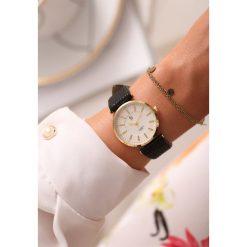 Zegarki damskie: Czarno-Złoty Zegarek Classic Timer