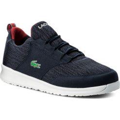 Trampki chłopięce: Sneakersy LACOSTE - L.Ight 1184 Spj 7-35SPJ0008144 Navy/Red
