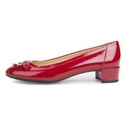 Geox Baleriny Damskie Carey 39 Czerwone. Czerwone baleriny damskie z kokardą marki Geox. W wyprzedaży za 329,00 zł.