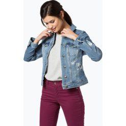 Bomberki damskie: s.Oliver Casual - Damska kurtka jeansowa, niebieski