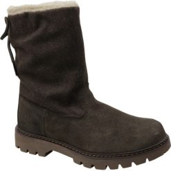 Caterpillar Showcase Fur P310537. Czarne buty trekkingowe damskie marki Timberland, na zimę. W wyprzedaży za 379,99 zł.