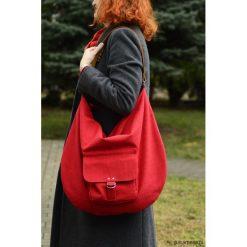 Torebki klasyczne damskie: Hobo Pocket RED