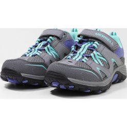 Merrell GIRLS TRAIL CHASER Obuwie hikingowe grey/multi. Szare buty sportowe chłopięce Merrell, z materiału, outdoorowe. Za 229,00 zł.