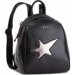 Plecak NOBO - NBAG-F0900-C020 Czarny. Czarne plecaki damskie Nobo, ze skóry ekologicznej, eleganckie. W wyprzedaży za 159,00 zł.