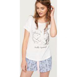Piżamy damskie: Piżama winnie the pooh – Biały