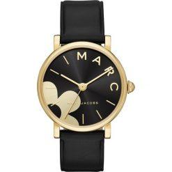Marc Jacobs CLASSIC Zegarek schwarz. Czarne, analogowe zegarki damskie Marc Jacobs. Za 919,00 zł.