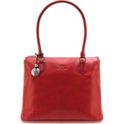Torebka damska 35-4-049-3. Czerwone torebki klasyczne damskie Wittchen, w paski. Za 999,00 zł.