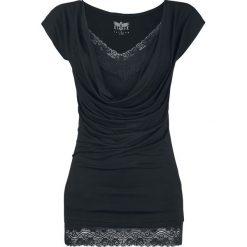 Black Premium by EMP Emma Koszulka damska czarny/czarny. Czarne bluzki koronkowe marki Black Premium by EMP, xl. Za 144,90 zł.