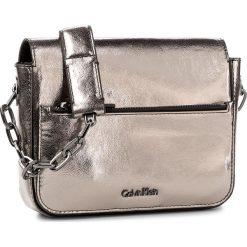 Torebka CALVIN KLEIN - Night Out Small Shou K60K604062 908. Szare torebki klasyczne damskie marki Calvin Klein, ze skóry ekologicznej. W wyprzedaży za 399,00 zł.