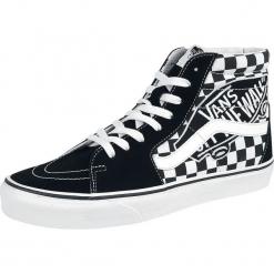 Vans SK8-Hi Vans Patch Buty sportowe czarny/biały. Białe buty skate męskie marki Vans, z aplikacjami, vans sk8. Za 399,90 zł.