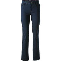 """Spodnie z wysokim stanem: Spodnie """"Marylin"""" w kolorze granatowym"""
