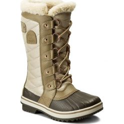 Buty zimowe damskie: Śniegowce SOREL – Toffino II Holiday NL 2592-214 Beach/Fawn