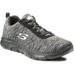 Buty SKECHERS - Flex Appeal 2.0 12753/BKCC Black/Charcoal. Niebieskie buty do fitnessu damskie marki Salomon, z gore-texu, na sznurówki, gore-tex. W wyprzedaży za 209,00 zł.