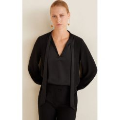 Mango - Bluzka Neem. Czarne bluzki nietoperze marki bonprix, eleganckie. Za 139,90 zł.