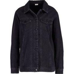 Bomberki damskie: JDY JDYASHLEY Kurtka jeansowa dark grey denim