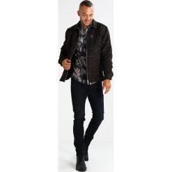 Koszule męskie na spinki: AllSaints PEORIA Koszula black