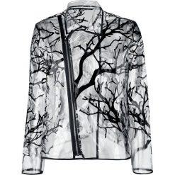 Jawbreaker Branches Rain Coat Płaszcz przeciwdeszczowy przezroczysty. Szare płaszcze damskie pastelowe Jawbreaker, s, z materiału. Za 121,90 zł.
