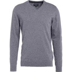 Swetry klasyczne męskie: Barbour HARROW Sweter grey marl