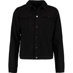 Kurtki męskie bomber: Criminal Damage TRUCKER  Kurtka jeansowa black/black