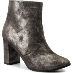 Botki OLEKSY - 464 836. Szare buty zimowe damskie marki Oleksy, ze skóry. W wyprzedaży za 259,00 zł.