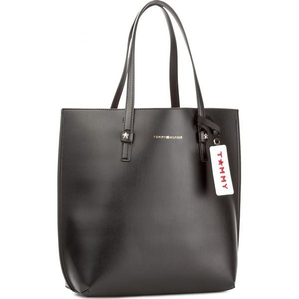 2a0de56ee7f1e Torebka TOMMY HILFIGER - Th Effortless Tote Lrg AW0AW04853 002 ...