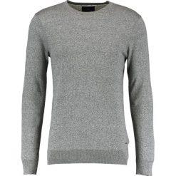 Swetry klasyczne męskie: Scotch & Soda Sweter graphite melange
