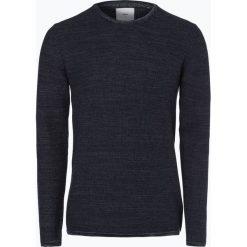 Minimum - Sweter męski – Reiswood 2.0, niebieski. Szare swetry klasyczne męskie marki TOMMY HILFIGER, l, z bawełny, z okrągłym kołnierzem. Za 249,95 zł.