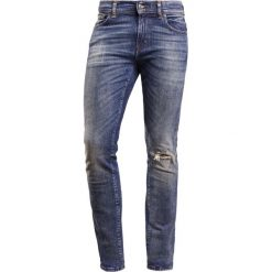 Jeansy męskie regular: 7 for all mankind RONNIE Jeansy Straight Leg blue destroyed