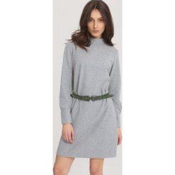 Szara Sukienka That's Good For Me. Szare sukienki mini marki other, l. Za 64,99 zł.