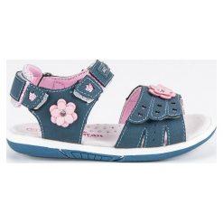 Sandały dla dziewczynki  AMERICAN CLUB niebieskie. Niebieskie sandały dziewczęce marki American CLUB. Za 69,90 zł.