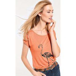 Odzież damska: Koszulka w kolorze pomarańczowym