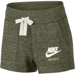 Nike Krótkie Spodenki Damskie W Nsw Gym Vntg Short/Olive Canvas/Sail M. Brązowe spodenki sportowe męskie Nike, z bawełny, sportowe. Za 119,00 zł.