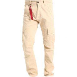 Spodnie męskie: Alpha Industries AGENT Bojówki caramel