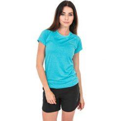 Topy sportowe damskie: Hi-tec Koszulka damska Thaba Hi-Tec River Blue Melange niebieska r. S