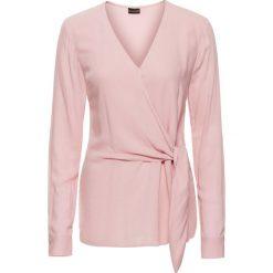 Bluzki damskie: Bluzka bonprix różowy dymny