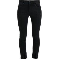 LOIS Jeans CORDOBA SPLIT Jeans Skinny Fit black stone. Czarne jeansy damskie relaxed fit marki LOIS Jeans, z bawełny. Za 589,00 zł.