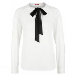 S.Oliver Koszulka Damska 38 Kremowy. Czarne bluzki wizytowe marki Fille Du Couturier, z bawełny. Za 139,00 zł.