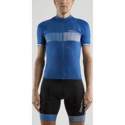 Odzież rowerowa męska: Craft Koszulka rowerowa Verve Glow Jersey niebieska r. M (1904995-2367)