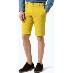 Bermudy męskie: BOSS Casual - Spodenki męskie, żółty
