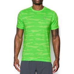 Under Armour Koszulka męska Threadborne Run Mesh SS limonkowa r. L (1298851-752). Zielone koszulki sportowe męskie Under Armour, l, z meshu. Za 117,75 zł.