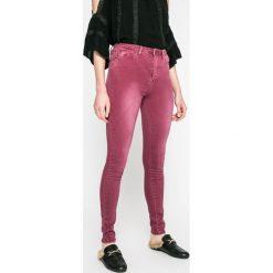 Answear - Jeansy. Szare jeansy damskie rurki marki ANSWEAR, z bawełny. W wyprzedaży za 59,90 zł.