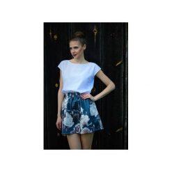 Spódnica  Flowers. Niebieskie spódniczki For heart, l, z bawełny. Za 89,00 zł.