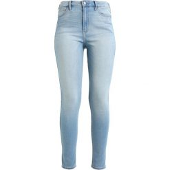 Hollister Co. Jeans Skinny Fit light blue denim. Niebieskie boyfriendy damskie Hollister Co. Za 209,00 zł.