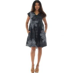 Odzież damska: Sukienka w kolorze czarno-białym