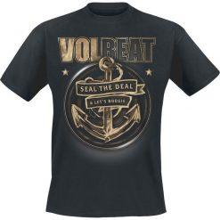 Volbeat Anchor T-Shirt czarny. Czarne t-shirty męskie z nadrukiem Volbeat, l, z okrągłym kołnierzem. Za 89,90 zł.