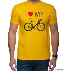 Koszulka T-SHIRT Love Bike. Czarne t-shirty męskie z nadrukiem marki Pakamera, m, z kapturem. Za 75,00 zł.