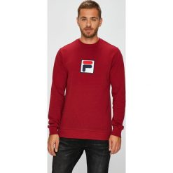 Fila - Bluza. Czerwone bluzy męskie rozpinane marki KALENJI, m, z elastanu, z długim rękawem, długie. Za 299,90 zł.