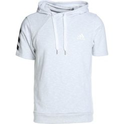 Bluzy męskie: adidas Performance SHOOTER Bluza z kapturem white/gretwolf