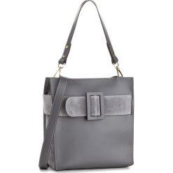 Torebka CREOLE - K10449 Szary. Szare torebki klasyczne damskie Creole, ze skóry, duże. W wyprzedaży za 259,00 zł.